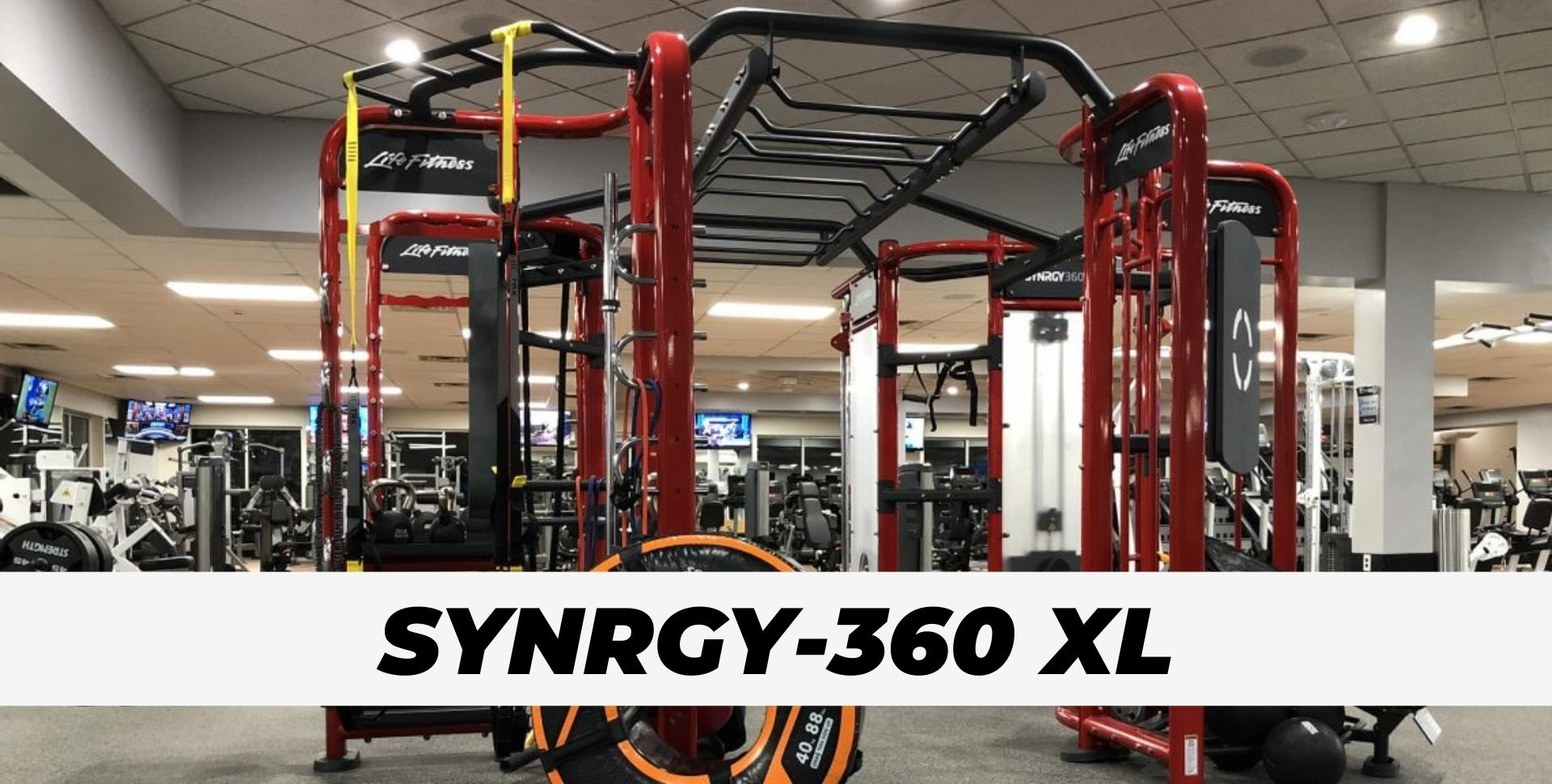 Synrgy 360 XL cable motion at gym for Potfolio Pic