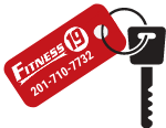 Fitness 19 key tag for gym