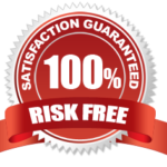 100% risk free satisfaction guarantee